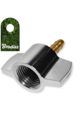 Nakrętka 6mm do kompresora samochodowego motylek BRADAS 6029