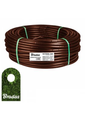 Wąż kroplujący 16mm 100m WATERMIL DRIP BROWN