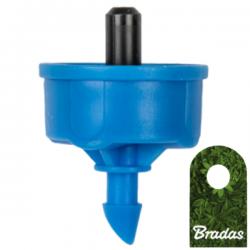 Kroplownik z kompensacją ciśnienia 4l/h wyjście 5mm Bradas