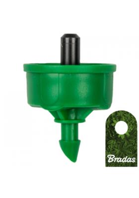 Kroplownik z kompensacją ciśnienia 4l/h wyjście 5mm NO-DRAIN Bradas