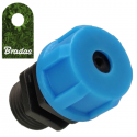 """Adapter do igły z gwintem zewnętrznym 1/4"""" Bradas 7553"""