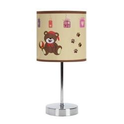 Lampka stołowa NUKA E14 BROWN IDEUS 6508