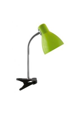 Lampka biurkowa na klips KATI E27 GREEN CLIP