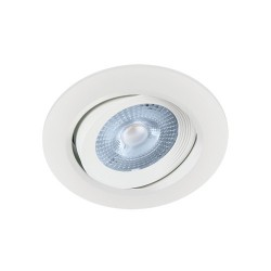 Oprawa sufitowa wpuszczana SMD LED MONI LED C 5W 3000K WHITE IDEUS 2296