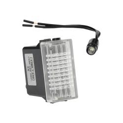 Kontrolka LED transparentna 230V Marlanvil 2130