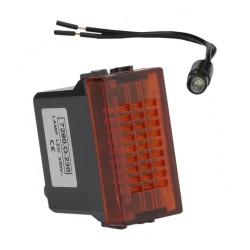 Kontrolka LED ORANGE 230V Marlanvil 2116