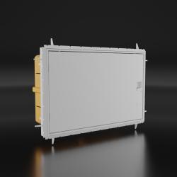 Rozdzielnica podtynkowa QZERO IP65 12 modułowa