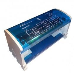 Blok rozdzielczy 125A 500V na szynę CSB-211 XBS