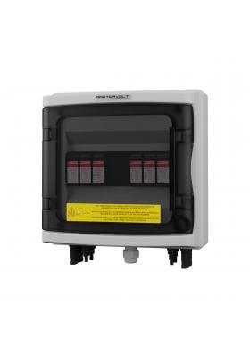 Rozdzielnica PV solarna fotowoltaiczna DC 1000V T1 T2 2 stringi MC4 Doktorvolt 2421