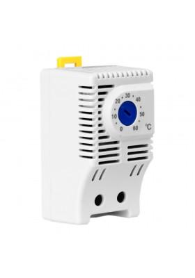 Termostat do wentylatorów NTH 10A 230V 0-60°C 8024