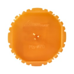 Pokrywa sygnalizacyjna puszki 70mm 50szt. pomarańczowa 13.17 E-P 3654