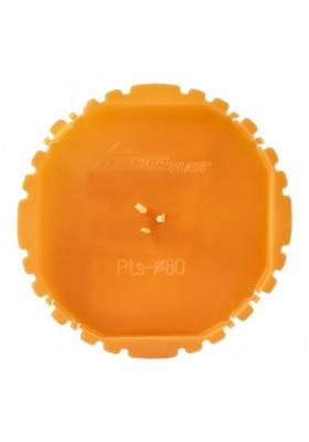 Pokrywa sygnalizacyjna puszki 60mm pomarańczowa