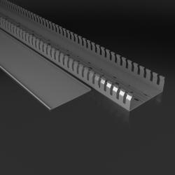 Korytko grzebieniowe 120x40 Kanał kablowy z pokrywą 1m EC 8636