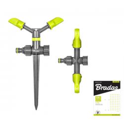 2-ramienny zraszacz obrotowy na kolcu LIME LINE LE-6101 BRADAS 2136