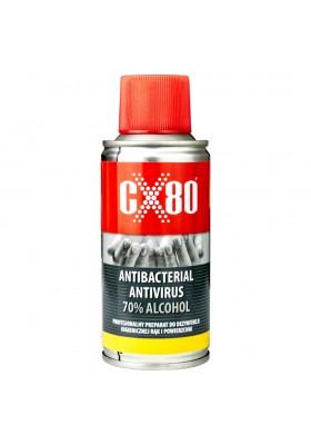 Preparat Antywirusowy Antybakteryjny 70% Alkoholu Do rąk i powierzchni CX80 0901