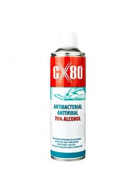 500 ml Preparat Antywirusowy Antybakteryjny 70% Alkoholu Do rąk i powierzchni CX80 0864