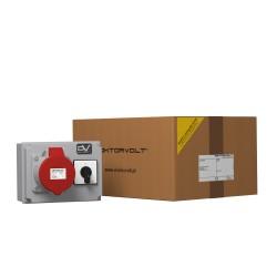 Rozdzielnica budowlana WDD 1x32A łącznik krzywkowy 40A 0-1 Doktorvolt® 2992