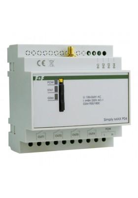 Przekaźnik zdalnego sterowania GSM Sterowanie SMS ON/OFF/Alarm 4x Wejście 4x Wyjście