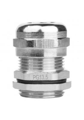 PG13.5 Dławnica kablowa mosiądz niklowany