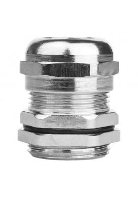 PG16 Dławnica kablowa mosiądz niklowany