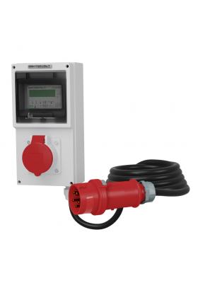 16A Mobilny licznik energii elektrycznej MID