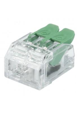 Szybkozłączka instalacyjna 2P 0.2-4.0 mm² VDE UL