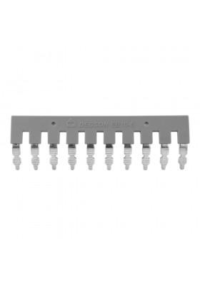 Mostek wtykowy 10-torowy EB 10-6 do złączek PC4