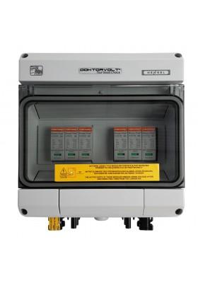 Rozdzielnica solarna PV DC 1000V T1 T2 40kA 2-stringowa MC4