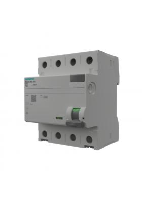 Wyłącznik różnicowoprądowy 63A 30mA 4p RCCB VDE Siemens