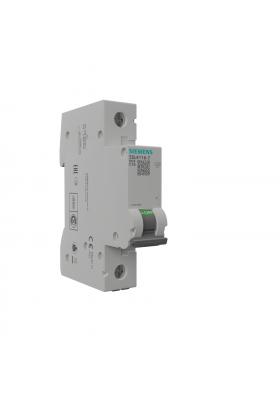Wyłącznik nadprądowy 1P C 16A 6kA AC VDE Siemens 0170