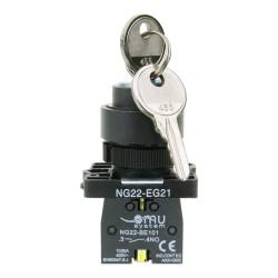 Przełącznik z kluczem 0-1 NG22-EG21 XBS EG21 0212