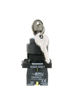 Przełącznik z kluczem 0-1 LAY5-EG21 XBS