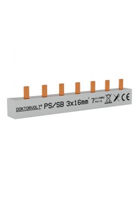 Szyna łączeniowa sztyftowa PS/S 3F 7Mod 16mm2