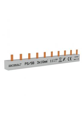 Szyna łączeniowa sztyftowa PS/S 3F 11Mod 16mm2
