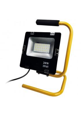 Naświetlacz Lampa przenośna LED 20W IP65 1400lm 4000K 230V 8922