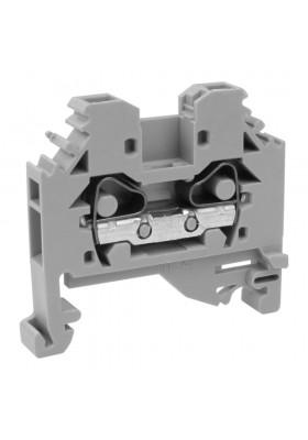 Złączka szynowa 4mm2 2-przewodowa 1P Przelotowa Zaciskowa WAGO 8168