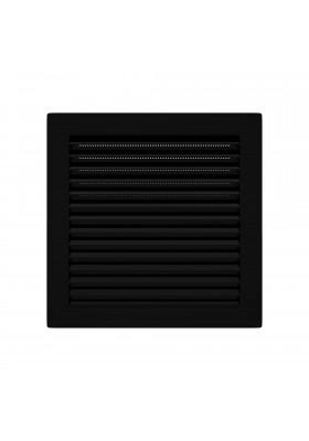 Kratka wentylacyjna skośna z siatką 14x14