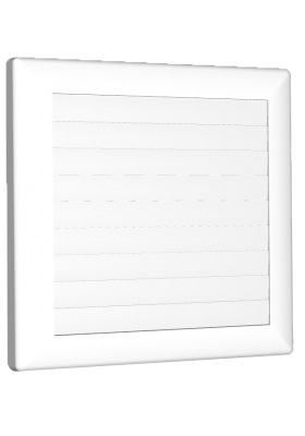 Kratka wentylacyjna zamykana ⌀ 80-150