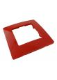 Ramka pojedyncza czerwona Niloe 665021 Legrand 0210