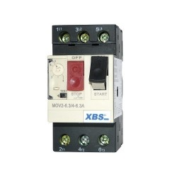 Wyłącznik silnikowy MOV2 4-6.3A XBS