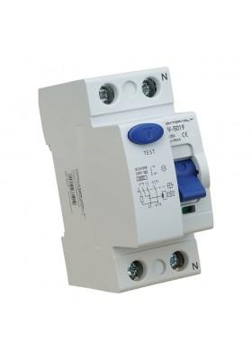 Wyłącznik różnicowoprądowy 2P 25A 30mA typ AC