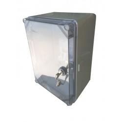 Uni-Mini/T obudowa UNIbox z płytą montażową transparentna pokrywa IP65 E-P 43.02 5917
