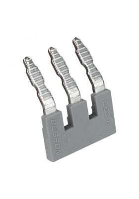 Mostek wtykowy grzebieniowy 3-torowy do złączek szynowych PC4 5934