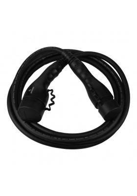 Kabel do ładowania samochodów 3F 32A 5m TYP2 IP55