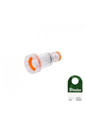 Przyłącze adapter na kran GW3/4' z filtrem WHITE LINE Bradas 1588