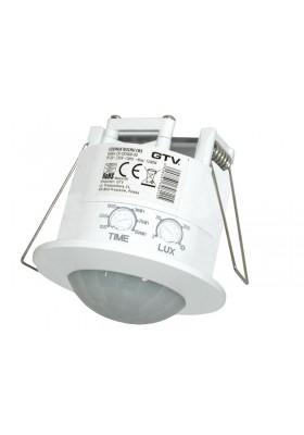 Czujnik ruchu CR5 wpuszczany 360° biały CR-CR5000-00 GTV