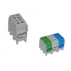 Blok rozdzielczy 1,5-25 mm2 FVK-25-1/2 szary XBS 0787