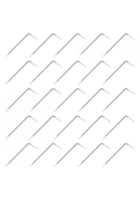 25x Kroplownik kątowy 2,2l/h na wąż 3x5m