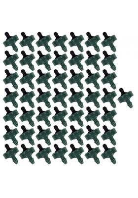 50x Kroplownik 8l/h na wąż 3x5mm