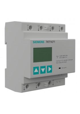 Cyfrowy wskaźnik panelowy mocy LCD 3-fazowy MID
